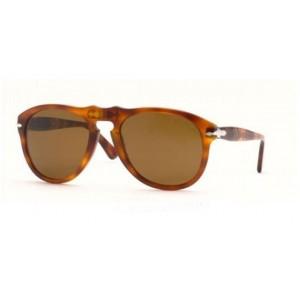 lunettes de soleil persol po649 ecaille clair 96/33