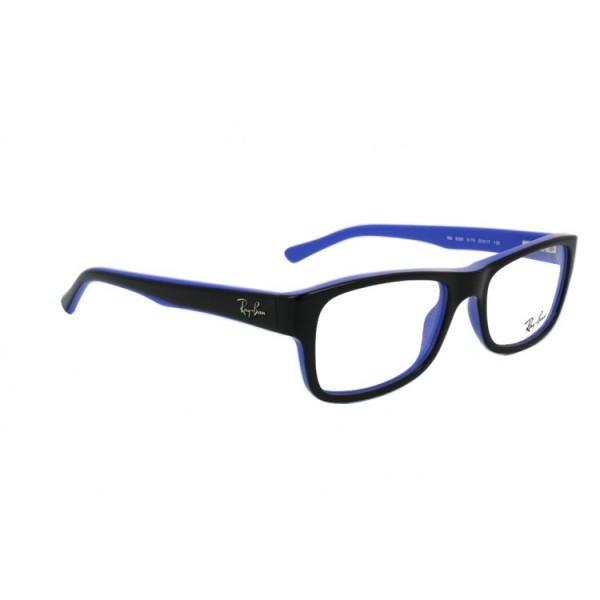 lunettes de vue ray ban rx 5268 noir et bleu 5179 opticien. Black Bedroom Furniture Sets. Home Design Ideas