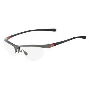 lunettes de vue nike 7070/2 gris et noir 035