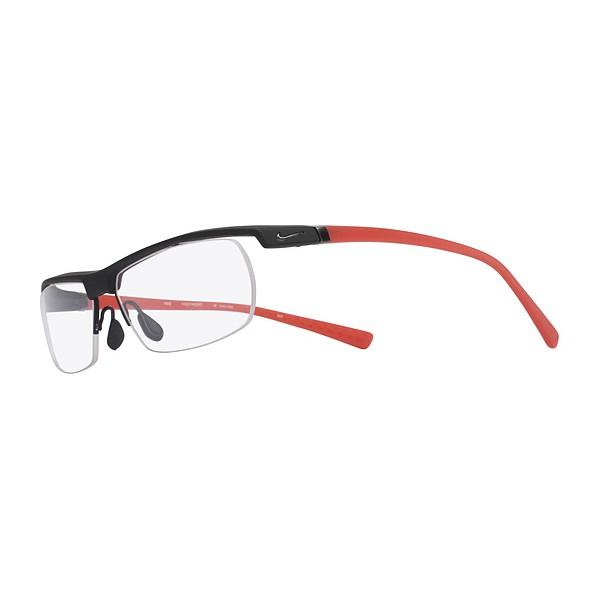 lunettes de vue nike 7071 2 noir mat et rouge 011 - Bienvoir.com ... 1e2ddc2d6241