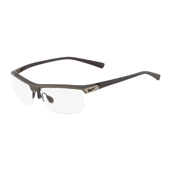 4f3a7c3ade5bd4 lunettes de vue nike 7071 2 gris 071 - Bienvoir.com - Opticien