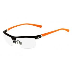 lunettes de vue nike 7071/2 noir et orange 075