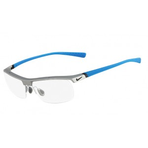 lunettes de vue nike 7071/2 gris et bleu 080
