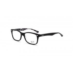 lunettes de vue ray ban rx 5228 noir mat 5405