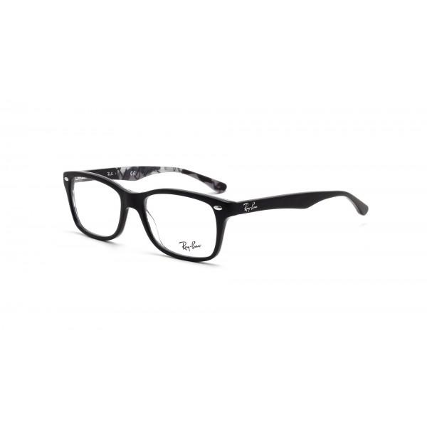 lunettes de vue ray ban rx 5228 noir mat 5405 - Bienvoir.com - Opticien 5ee543fae306