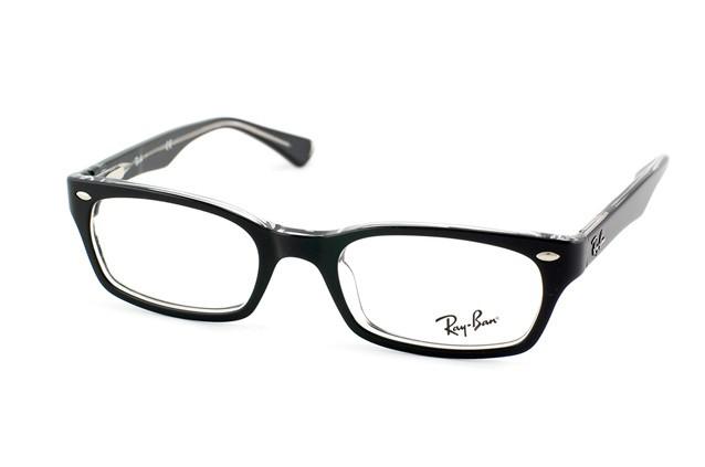 0a8787821a7377 lunettes de vue ray ban rx 5150 noire 2034 - Bienvoir.com - Opticien
