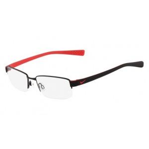lunettes de vue nike 8160 noir et rouge 012