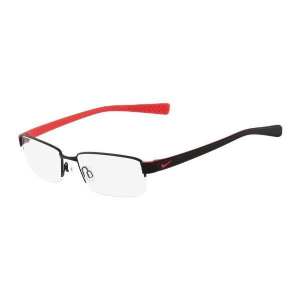 lunettes de vue nike 8160 noir et rouge 012 - Bienvoir.com - Opticien 4a88f8111ed9