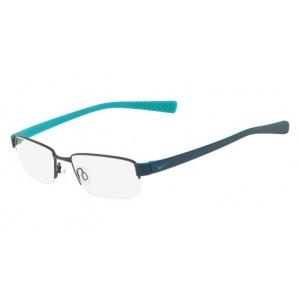 lunettes de vue nike 8160 gun et bleu 068