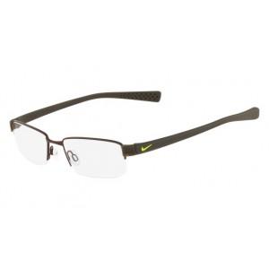lunettes de vue nike 8160 marron et kaki 211