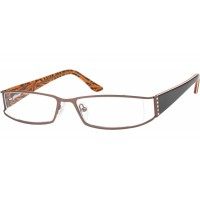 lunettes de vue no name 419B café/orange