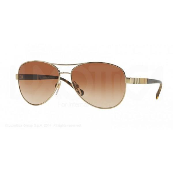 lunettes de soleil burberry be3080 doré 114513 - Bienvoir.com - Opticien 0f95d71d3a60