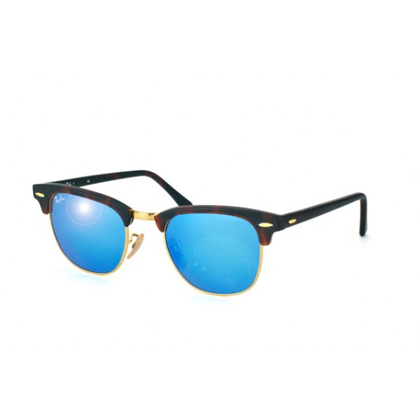 lunettes de soleil ray ban rb3016 clubmaster ecaille 114517