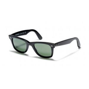 lunettes de soleil ray ban wayfarer rb2140 noire 901/58