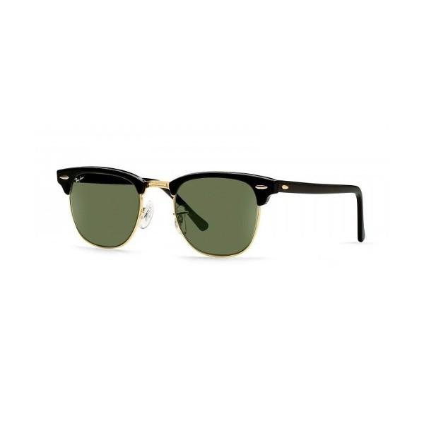 lunettes de soleil ray ban rb3016 clubmaster noir w0365 opticien. Black Bedroom Furniture Sets. Home Design Ideas