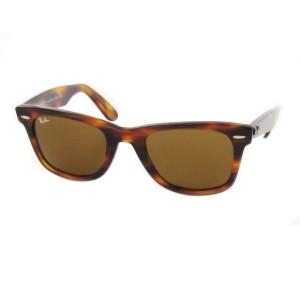 lunettes de soleil ray ban wayfarer rb2140 ecaille claire 954