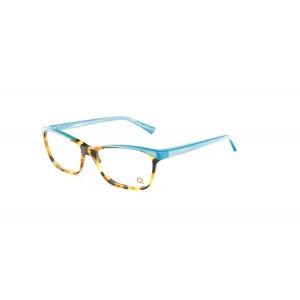 lunettes de vue etnia barcelona nimes ecaille et bleu HVTQ