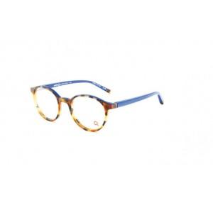 lunettes de vue etnia barcelona nara ecaille et bleu HVBL