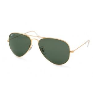 lunettes de soleil ray ban pilote rb3025 doré L0205