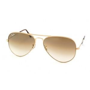 lunettes de soleil ray ban pilote rb3025 doré 001/51