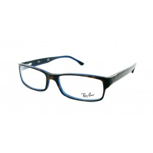 lunettes de vue ray ban rx 5114 ecaille et bleu 5064