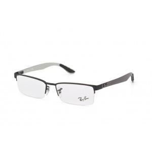 lunettes de vue ray ban rx8412 noir mat 2503