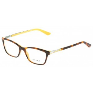 lunettes de vue ralph lauren ra7044 ecaille et jaune 1142