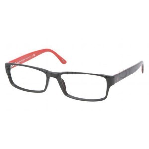 lunettes de vue ralph lauren ph2065 noir et rouge 5245