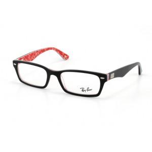 lunettes de vue ray ban rx 5206 noir rouge 2479