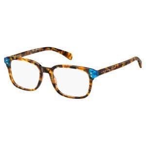 Lunettes de vue marc jacobs mmj633 écaille claire et bleu a7x