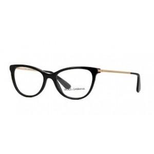 lunettes de vue dolce & gabbana dg3258 noir et doré 501