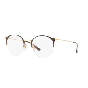 lunettes de vue ray ban rx 3578v dorée et marron 2905