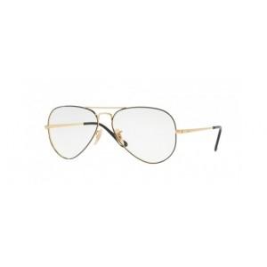 lunettes de vue ray ban rx 6489 dorée et noir 2946