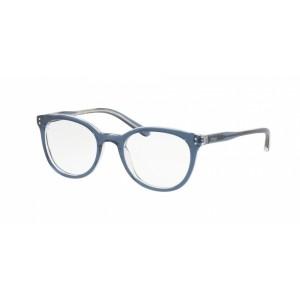 lunettes de vue ralph lauren pp8529 cristal et bleu 1666
