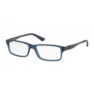 lunettes de vue ralph lauren ph2117 bleu mat transparent 5276