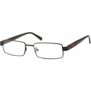 lunettes de vue no name 424f noir et rouge 49 €uros