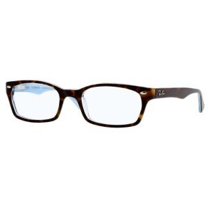 lunettes de vue ray ban rx 5150 ecaille et bleu 5023