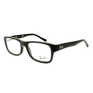 lunettes de vue ray ban rx 5268 noir 5119