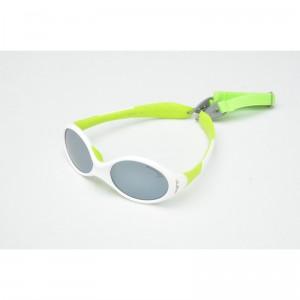 lunettes de soleil julbo looping 3 blanc et anis j349116c