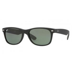 lunettes de soleil ray ban new wayfarer rb2132 noir mat 622