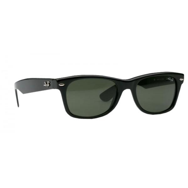 lunettes de soleil ray ban new wayfarer rb2132 noir 901 opticien. Black Bedroom Furniture Sets. Home Design Ideas