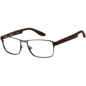 lunettes de vue carrera ca  5504 gris et marron bxg